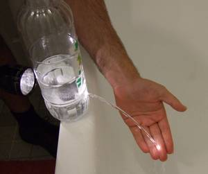 Водяное оптоволокно